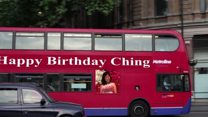 Happy birthday Ching