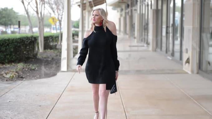 Shoulder dress PORTFOLIO