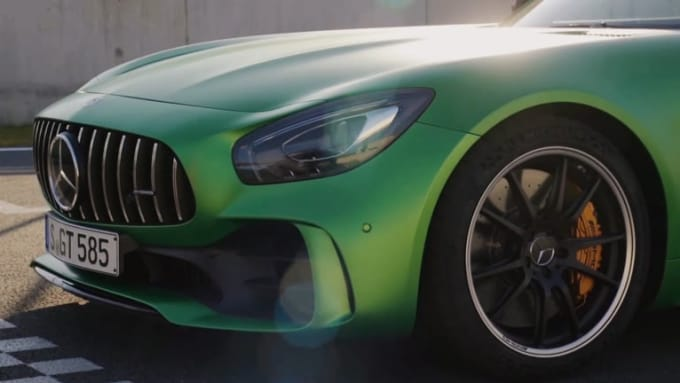 Mercedes logo theprivateselection 1080p