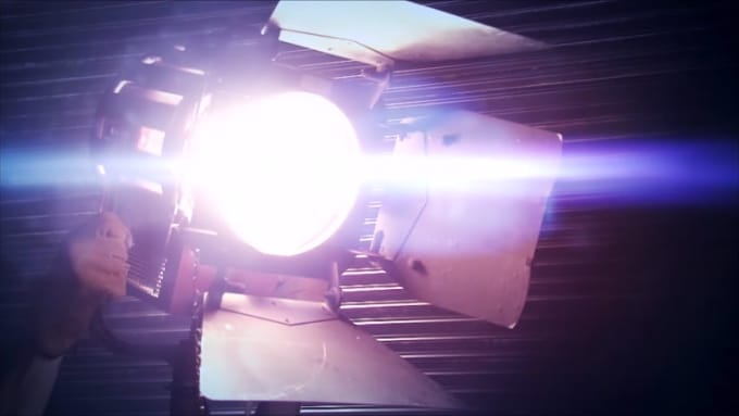 Film studio video
