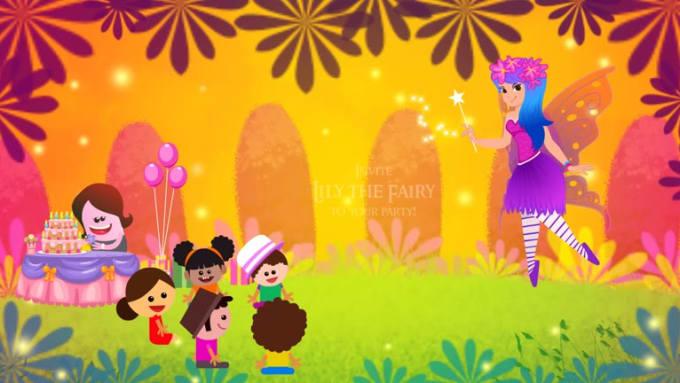 lily_invite animation