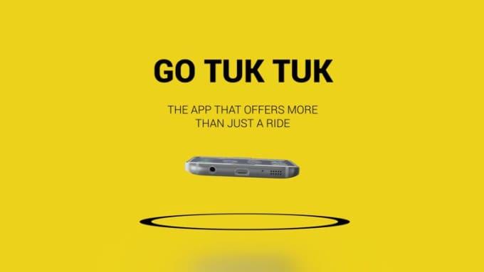 GO TUK TUK Android mobile app promo video