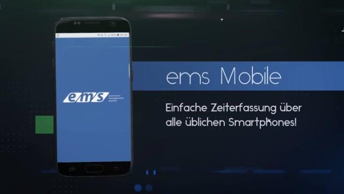 ems Mobile App Promo Video Trendy