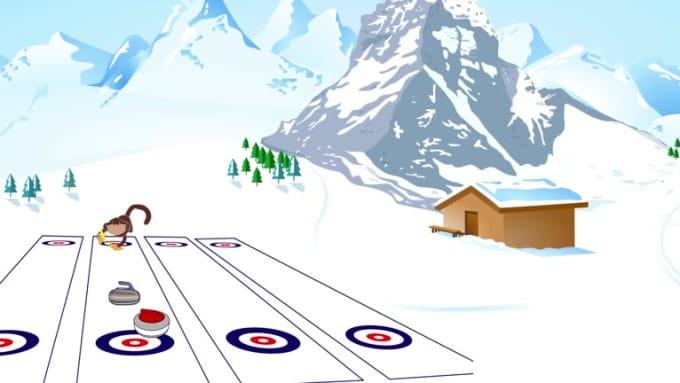 Monkey Pin Curling