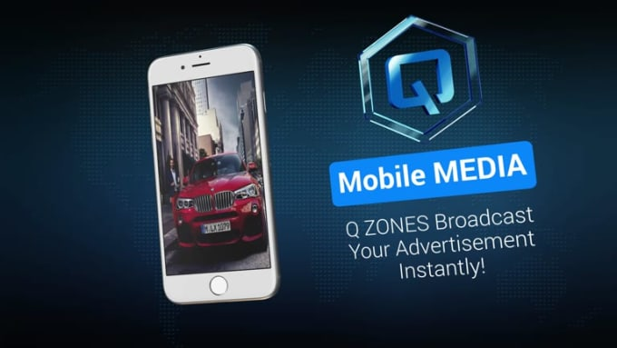 Q iPhone App promo video Stylish FULL HD_1