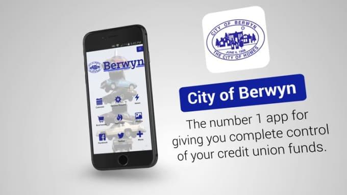Berwyn iPhone Mobile App promo video FULL HD