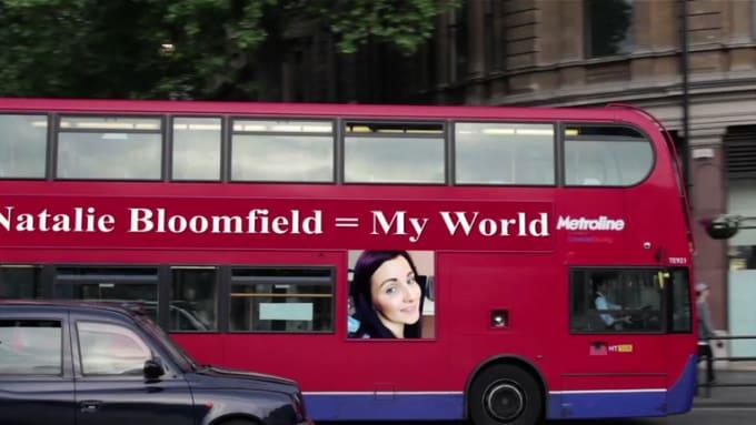 Natalie Bloomfield = My World - video
