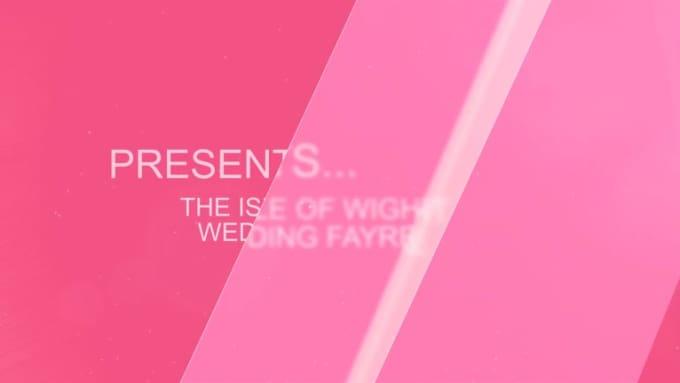 wedding fayre video V3 sample quality