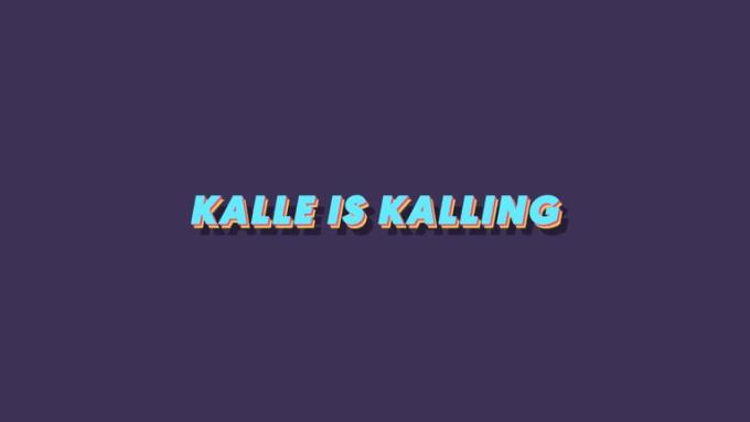 KALLEISKALLING
