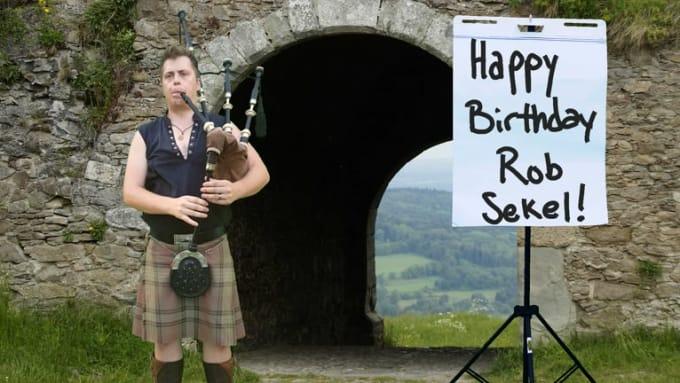 Happy Birthday Rob Sekel