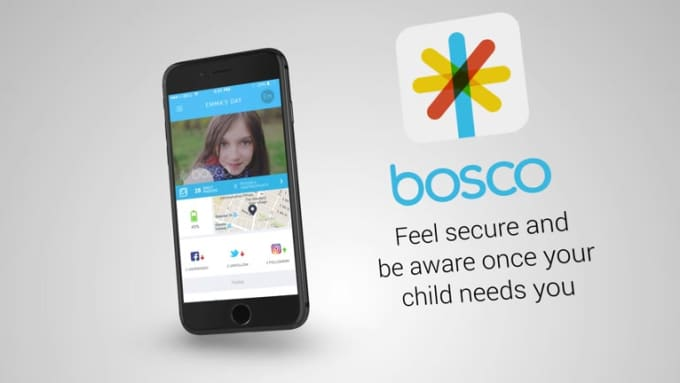 Bosco iPhone Stylish Mobile App Promo Video Full HD
