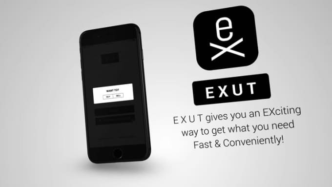 E X U T iPhone Stylish Mobile App Promo Video Full HD