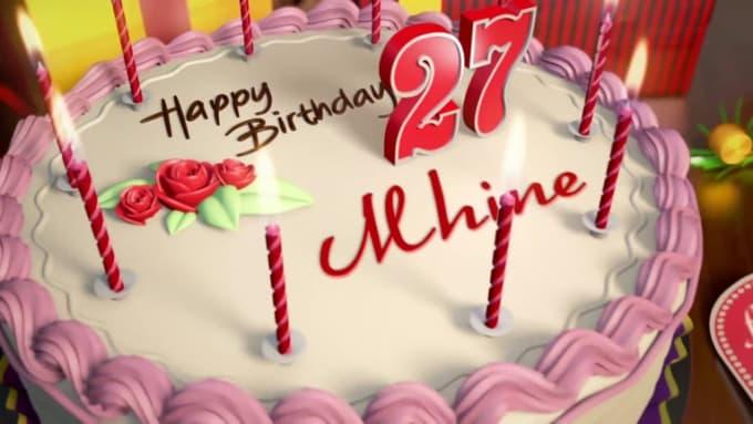 HappyBirthdayMhine