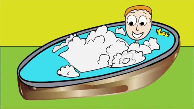 6 oclock bubble bath time