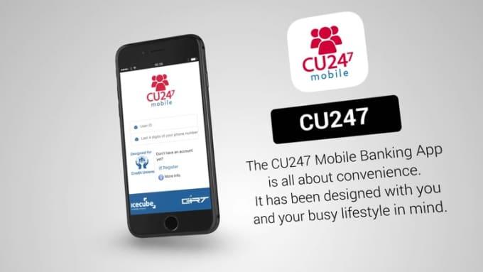 cu247 iPhone Stylish Mobile App Promo Video Full HD