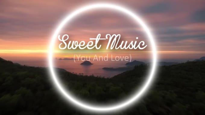 sweet music intro