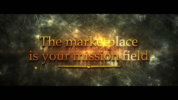The marketplace Full HD