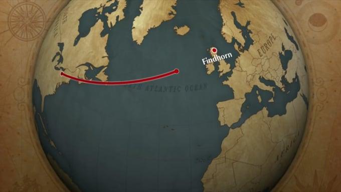 findhorn-map