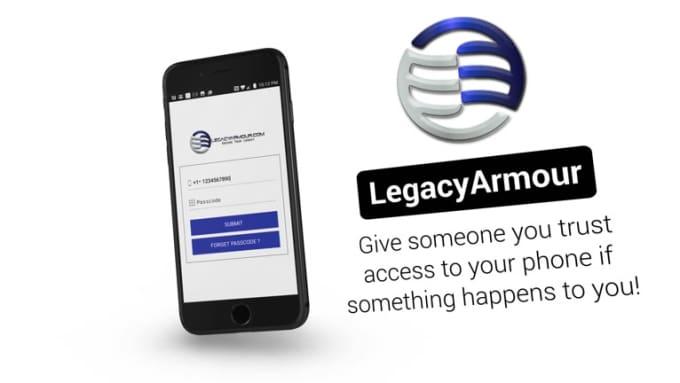 LegacyArmour iPhone Stylish Mobile App Promo Video Full HD_2