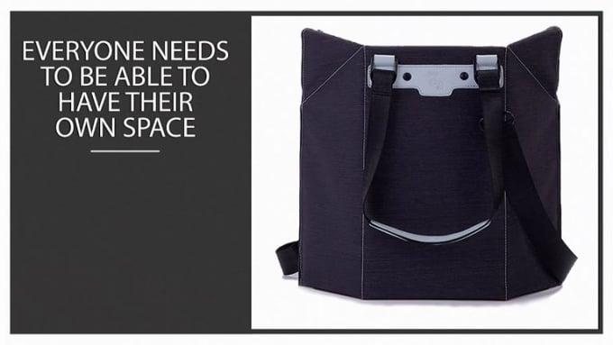 Lightweight Waterproof Geometric Seat Briefcase