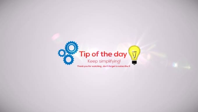 tip of the day 2nd