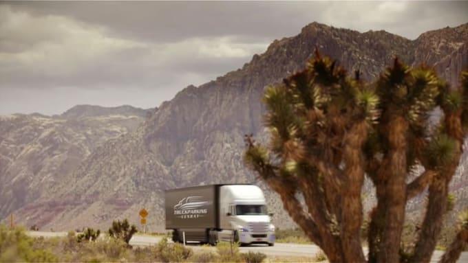 truck logo Truck Parking 720p