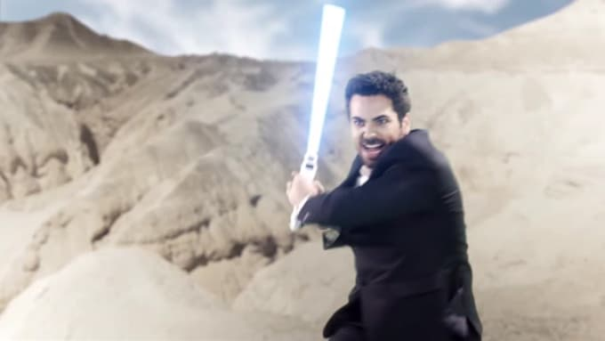 Rich56789 Saber Fight Commercial