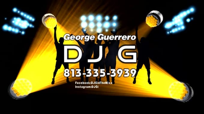 FINAL Intro Video for DJ G george919