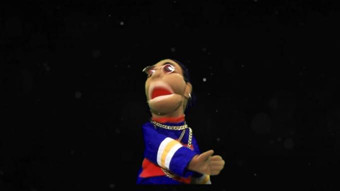 puppets message gig for joelslatis REDO