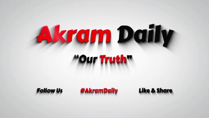 Akram Daily_intro