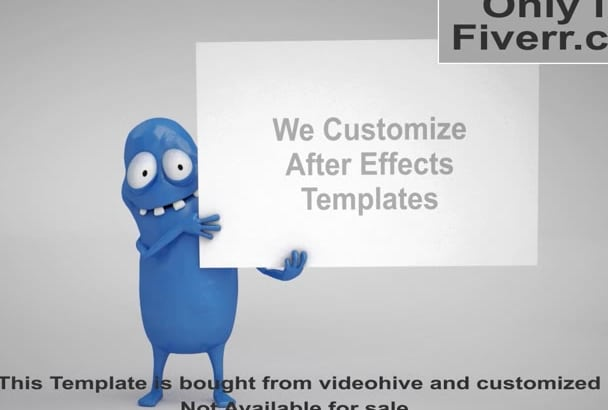 Edit Customize After Effects Template Videohive Revostock