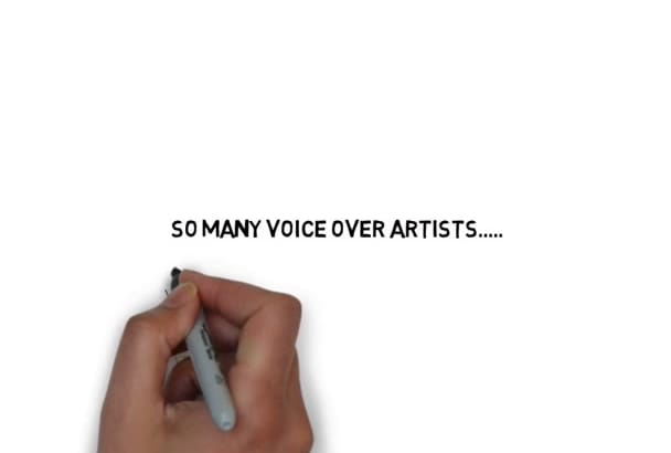 professionally record your voice over project