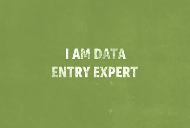 complete data entry jobs