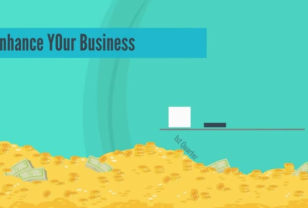 make amazing  2d explainer video with outstanding animations