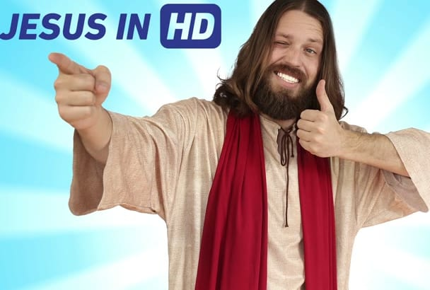 have jesus say anything you want in a video