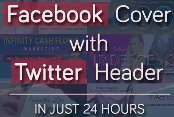 create facebook cover and twitter header