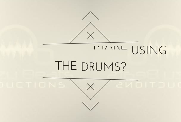 deliver a high quality hip hop drum sample pack