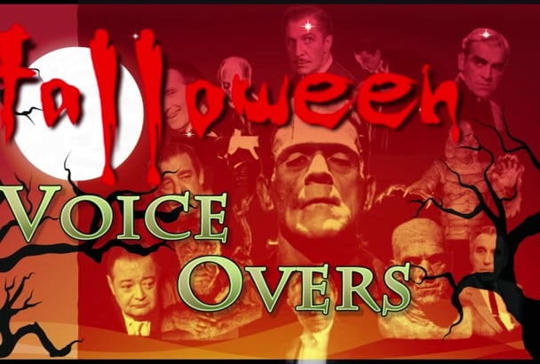 record your halloween horror voice overs