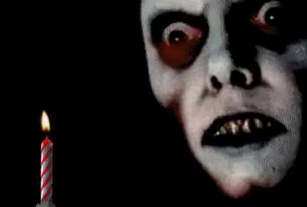 horror birthday birthday greetings   Fiverr horror birthday
