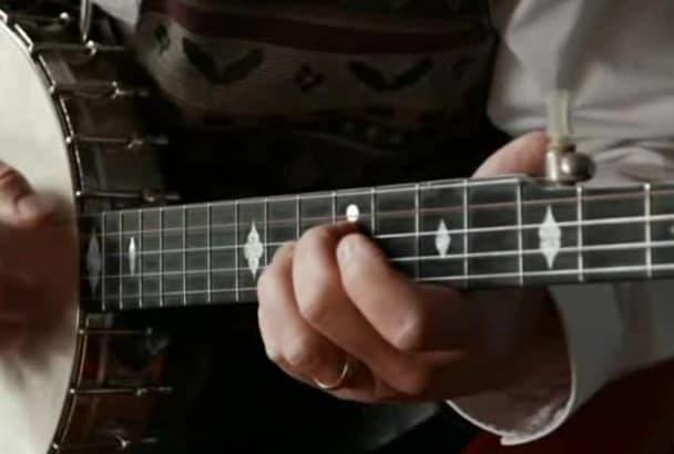 improvise banjo, mandolin, guitar or fiddle tracks