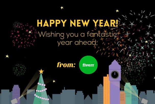 Make a happy new year greeting video by katrinagrimalt make a happy new year greeting video m4hsunfo Image collections