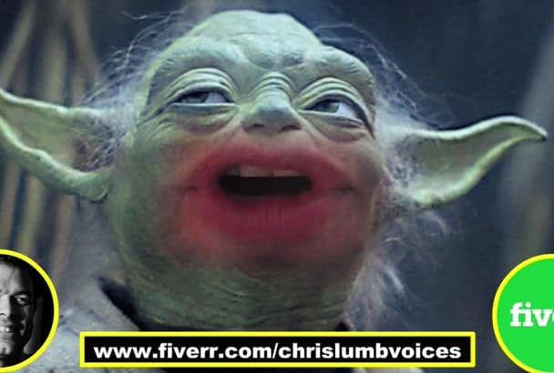 perform yoda impression and other star wars voices voice only not video