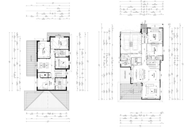 architect floor plans design your architectural floor plan in autocad 10148
