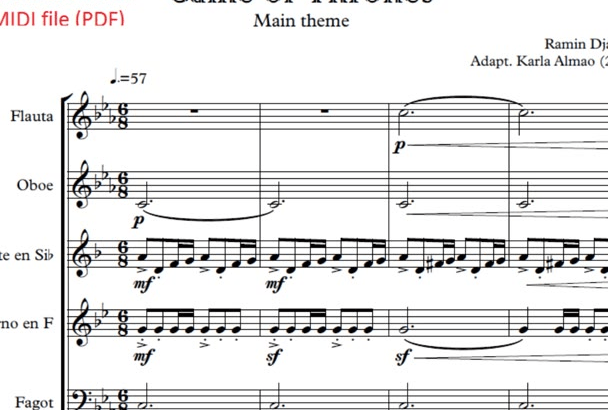 Sheet Music Pdf File - Disun