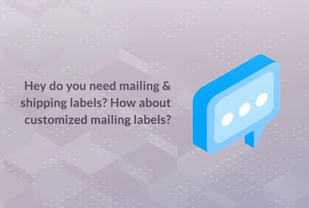 design your own personal mailing labels by solanllytapanes