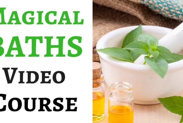 teach you 24 spiritual baths that attract blessings