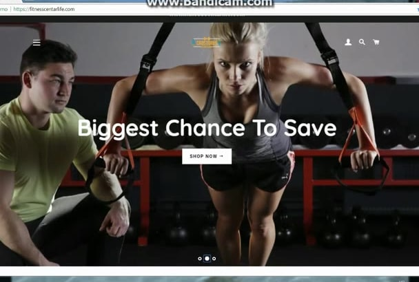 make you epic online store, shopify website