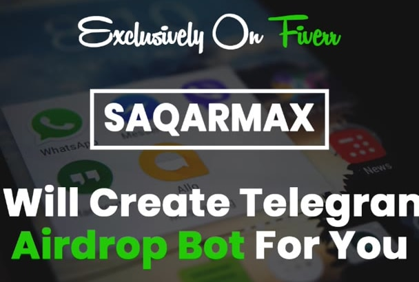 create airdrop telegram bot for you