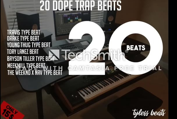 give you 20 dope trap beats