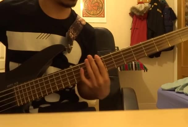 track bass guitar for your metal or djent song by kmmmaye